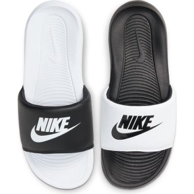 NIKE 拖鞋 女鞋 運動 黑白 DD0228100 W VICTORI ONE SLIDE MIX