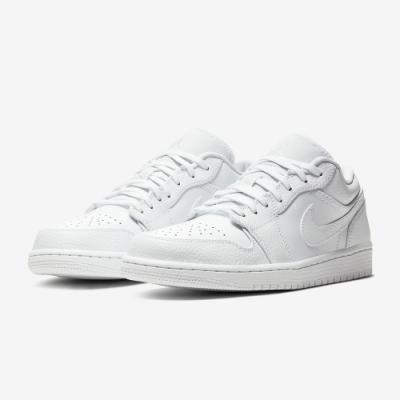 NIKE 休閒鞋 男鞋 AJ1 喬丹 皮革 經典款 運動鞋 白 553558130 AIR JORDAN 1 LOW