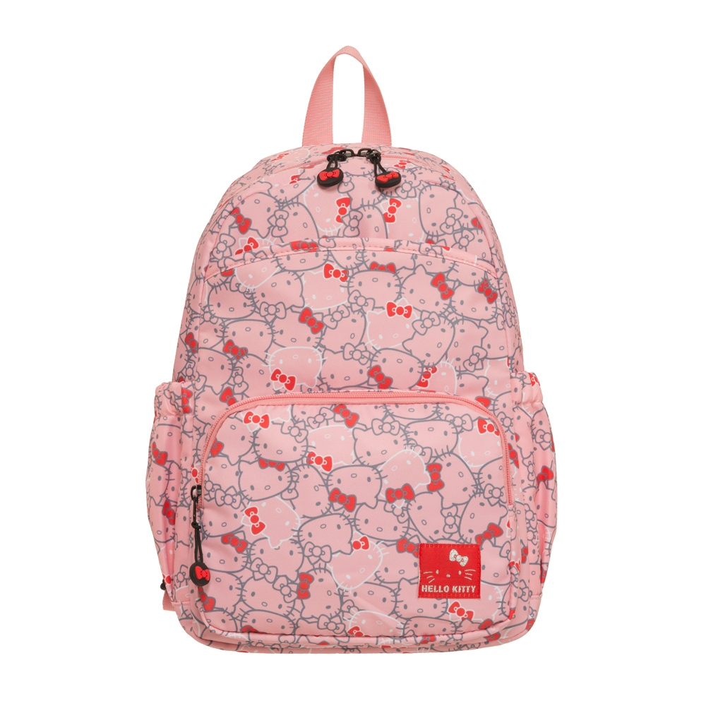 【Hello Kitty】繽紛凱蒂-後背包-粉 KT01V07PK