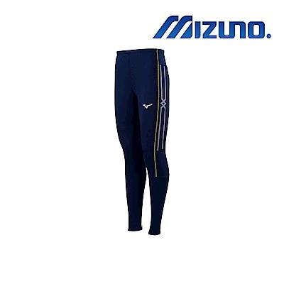 MIZUNO 緊身褲(全長型) 深丈青 U2TB9G0514