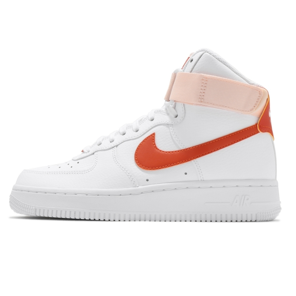 Nike Air Force 1 High 女休閒鞋-白粉-334031118