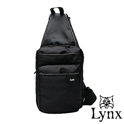 Lynx - 美國山貓紳士品味極簡多隔層機能單肩側肩包