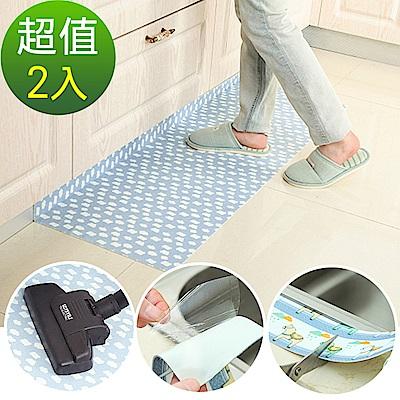 自黏式吸濕防滑廚房防汙靜電貼2入- 大 60x45cm