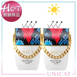 UNICAT變臉貓 清爽潤色 防曬隔離乳SPF50+ ★★★★X2入