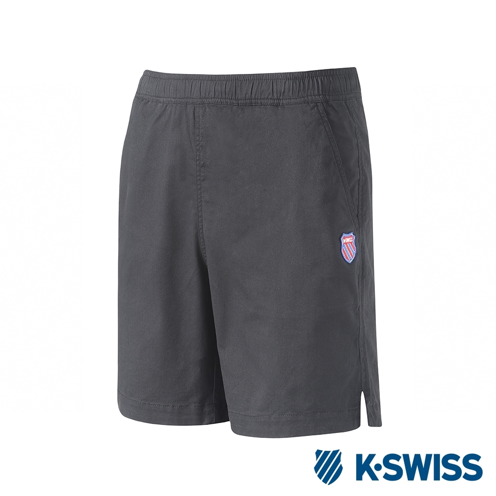 K-SWISS Essential Shorts時尚棉質短褲-女-黑