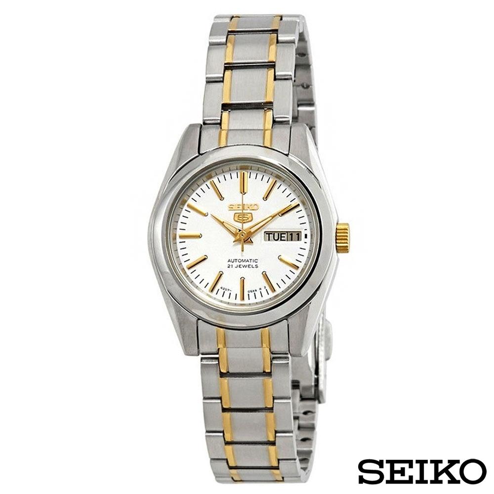 Seiko 精工機械機芯女裝腕錶-SYMK19J1
