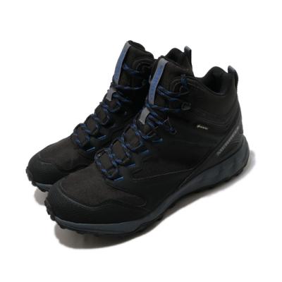 Merrell 戶外鞋 Altalight Approach 男鞋 登山 越野 GTX 防潑水 中筒 黑 藍 ML035149
