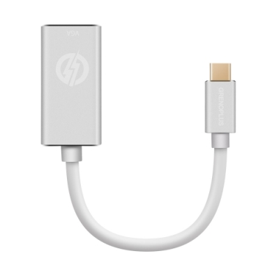 Grenoplus USB Type-C to VGA 1080P 影像轉接器