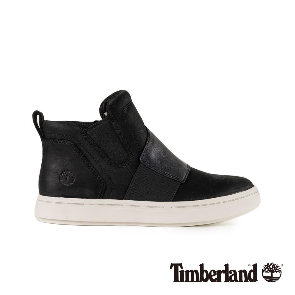 Timberland 女款黑色正絨面皮革 Londyn 休閒鞋 A1S3S @ Y!購物