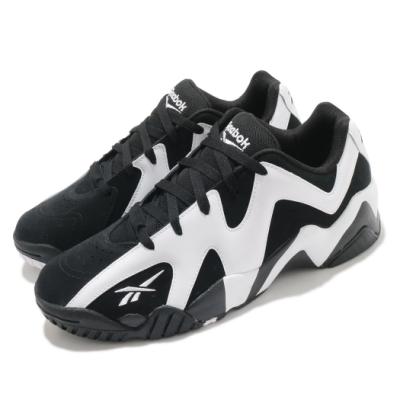 Reebok 籃球鞋 Kamikaze II Low 男女鞋 經典款 舒適 避震 情侶穿搭 低筒 球鞋 黑 白 FY9780