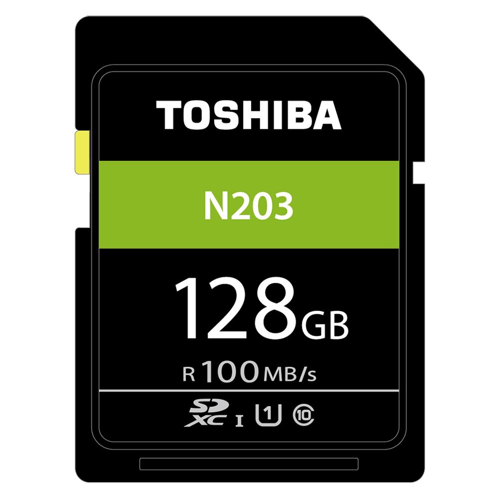 TOSHIBA N203 128GB UHS-I(U1) SDXC 100MB高速記憶卡