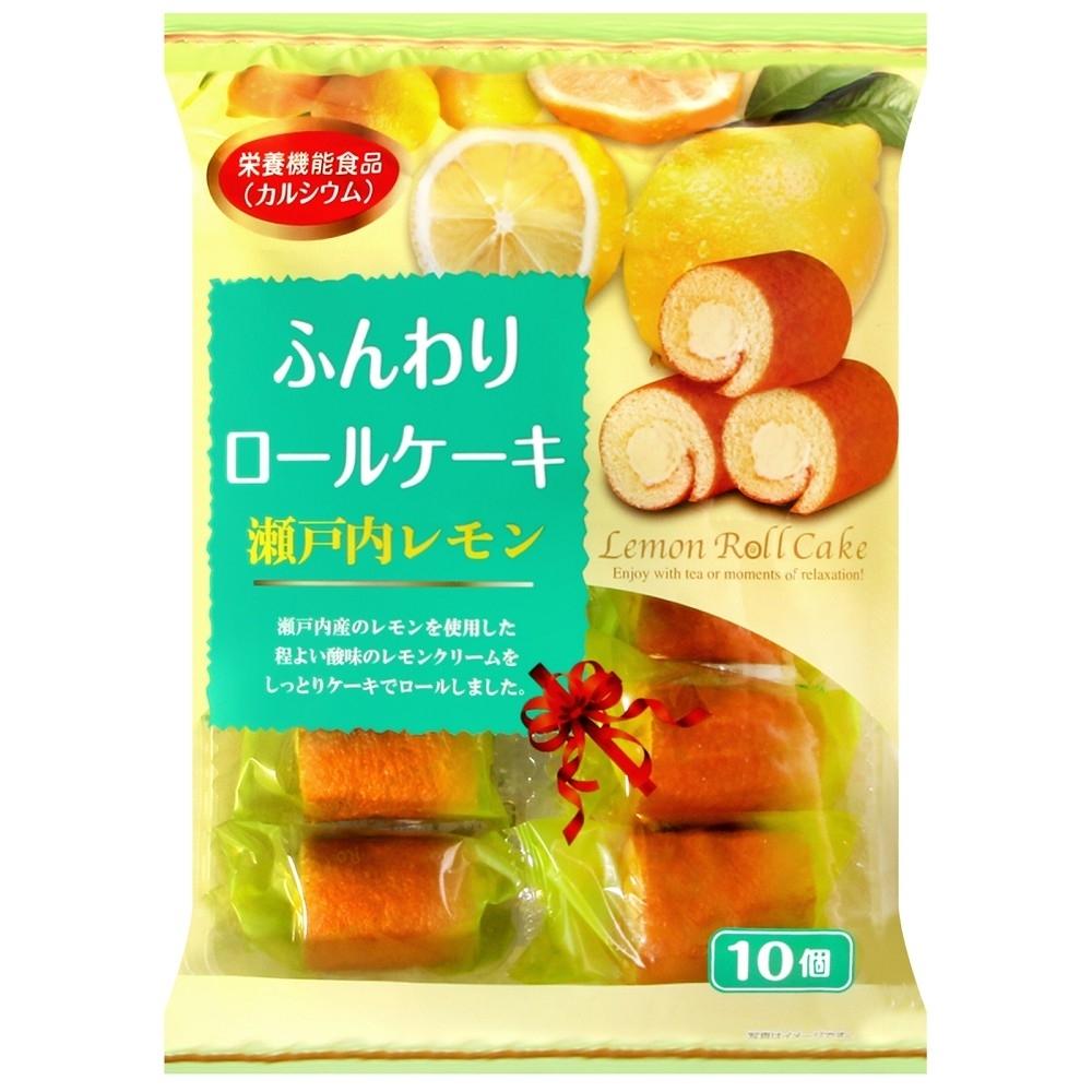 山內製果 檸檬風味蛋糕捲(170g)