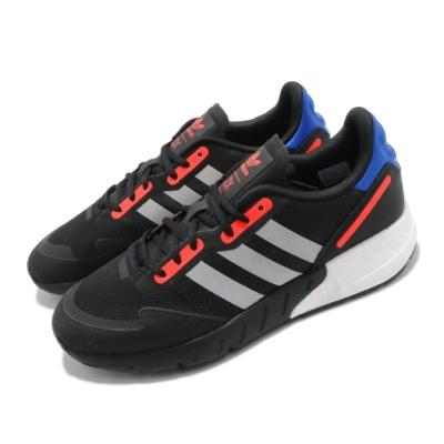 adidas 休閒鞋 ZX 1K Boost 運動 男鞋 愛迪達 三線 緩震 基本款 球鞋穿搭 黑 紅 FY5649