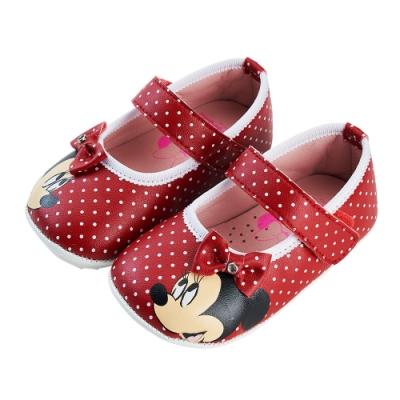 迪士尼童鞋  米妮  可愛圓點點公主鞋
