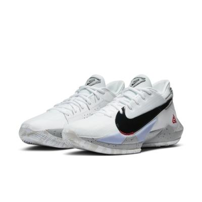 NIKE 籃球鞋 包覆 緩震 運動鞋 男鞋 白 CK5825100 ZOOM FREAK 2 EP
