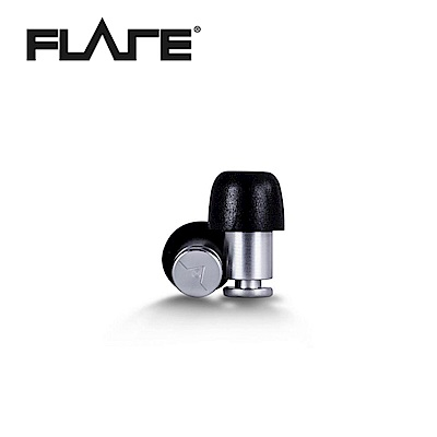 Flare Isolate 系列鋁製專業級英國防躁耳塞 銀色款