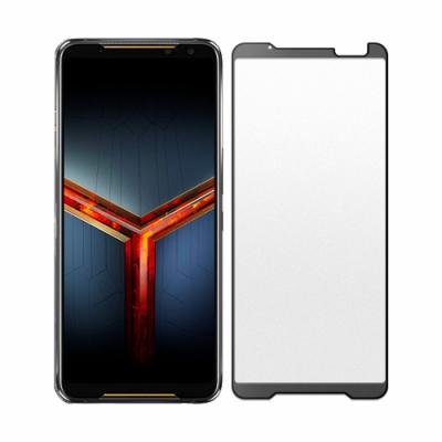 【SHOWHAN】ASUS ROG Phone 2 2.5D電競級霧面滿版鋼化玻璃保護貼