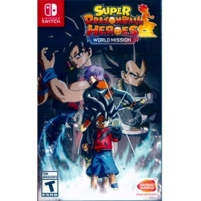 超級七龍珠群雄:世界任務 Super Dragon Ball Heroes: World Mission - NS Switch 英日文美版