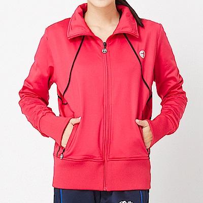 【TOP GIRL】立領剪接休閒外套-紅色