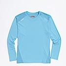 KAPPA義大利 精典女吸濕排汗長袖衫 珊瑚藍304P7F0914