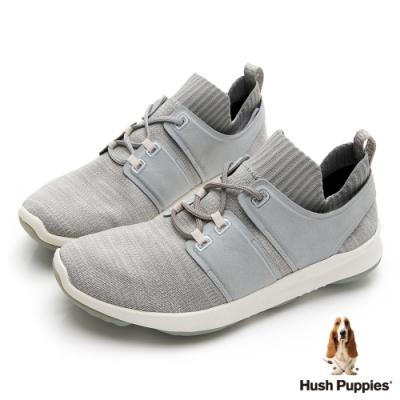 Hush Puppies  Bounce Max 高效彈力休閒男鞋-淺灰