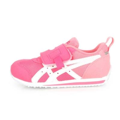 ASICS IDAHO MINI KT-ES 男女兒童慢跑運動鞋 粉紅白