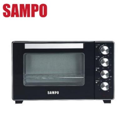 (快速到貨) SAMPO 聲寶 32L烘烤雙溫控旋風電烤箱 KZ-XR32F -
