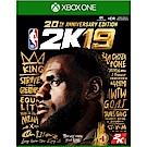 NBA 2K19 - XBOX ONE 亞版 中文 20 週年紀念版