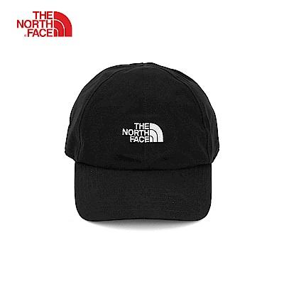 The North Face北面黑色吸濕透氣戶外休閒運動帽|A0BMKY4