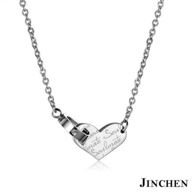 [時時樂限定]JINCHEN 白鋼氣質女性項鍊 多款任選