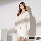 H:CONNECT 韓國品牌 女裝-民族風綁繩洋裝-白