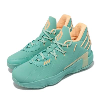 adidas 籃球鞋 Dame 7 GCA 里拉德 男鞋 海外限定版 0號 避震 耐磨 湖水綠 FZ1093
