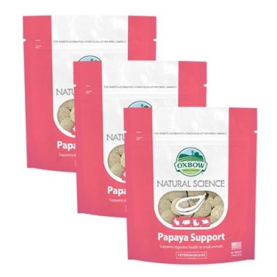 美國OXBOW - 新包裝-天然鳳梨木瓜酵素丸-三包組(OXBOW木瓜丸)