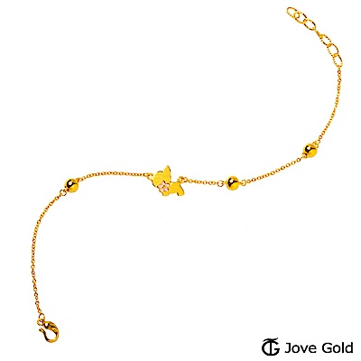 Jove Gold 漾金飾 旺桃花黃金手鍊