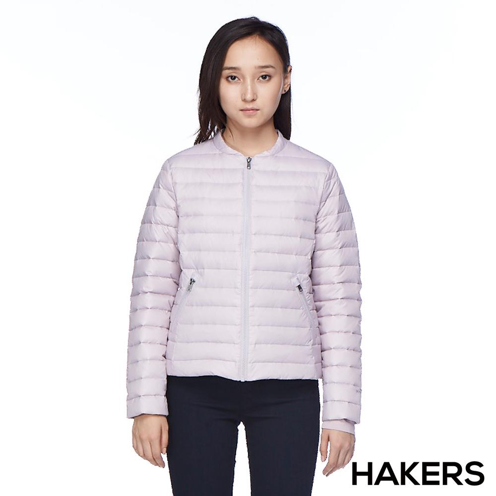 【HAKERS 哈克士】女款 羽絨外套(紫羅蘭)
