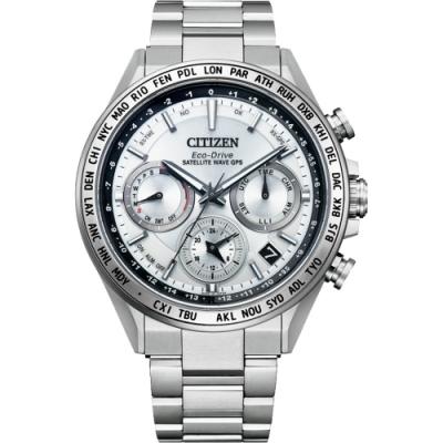 CITIZEN 星辰 限量GPS衛星對時光動能鈦金屬手錶  CC4010-80A