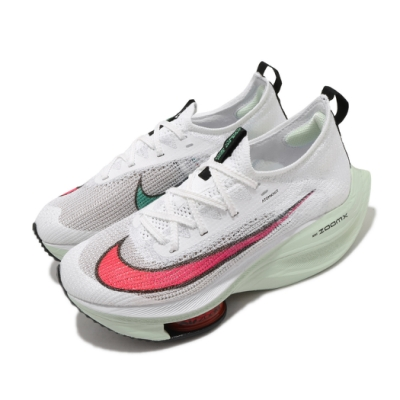 Nike 慢跑鞋 Alphafly Next% 頂級 女鞋 Zoom 套腳 避震 路跑 球鞋 白 紅 CZ1514100