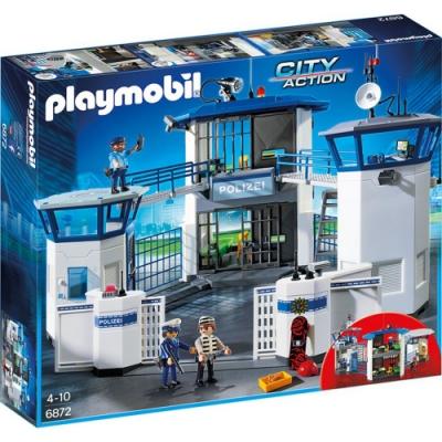 JAKO-O德國野酷 Playmobil摩比 警察指揮總部與監獄