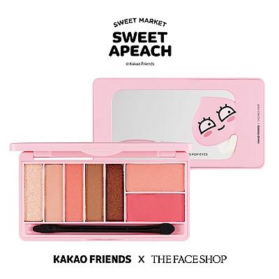 THE FACE SHOP SWEET APEACH 甜桃果汁眼頰盤-01