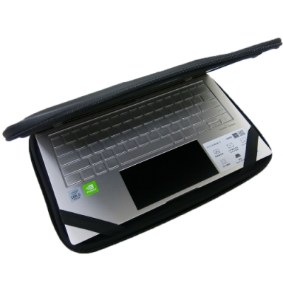 EZstick ASUS UX434 UX434FLC 適用 12吋 3合1超值電腦包組