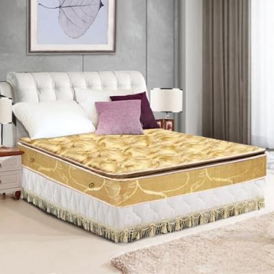 布萊迪 Brady  優眠五段式竹炭紗正三線乳膠獨立筒床墊-雙人加大6尺