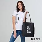 DKNY 休閒百搭肩背包 黑