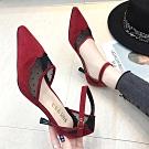 KEITH-WILL時尚鞋館 好感印象完美女神尖頭細鞋 紅