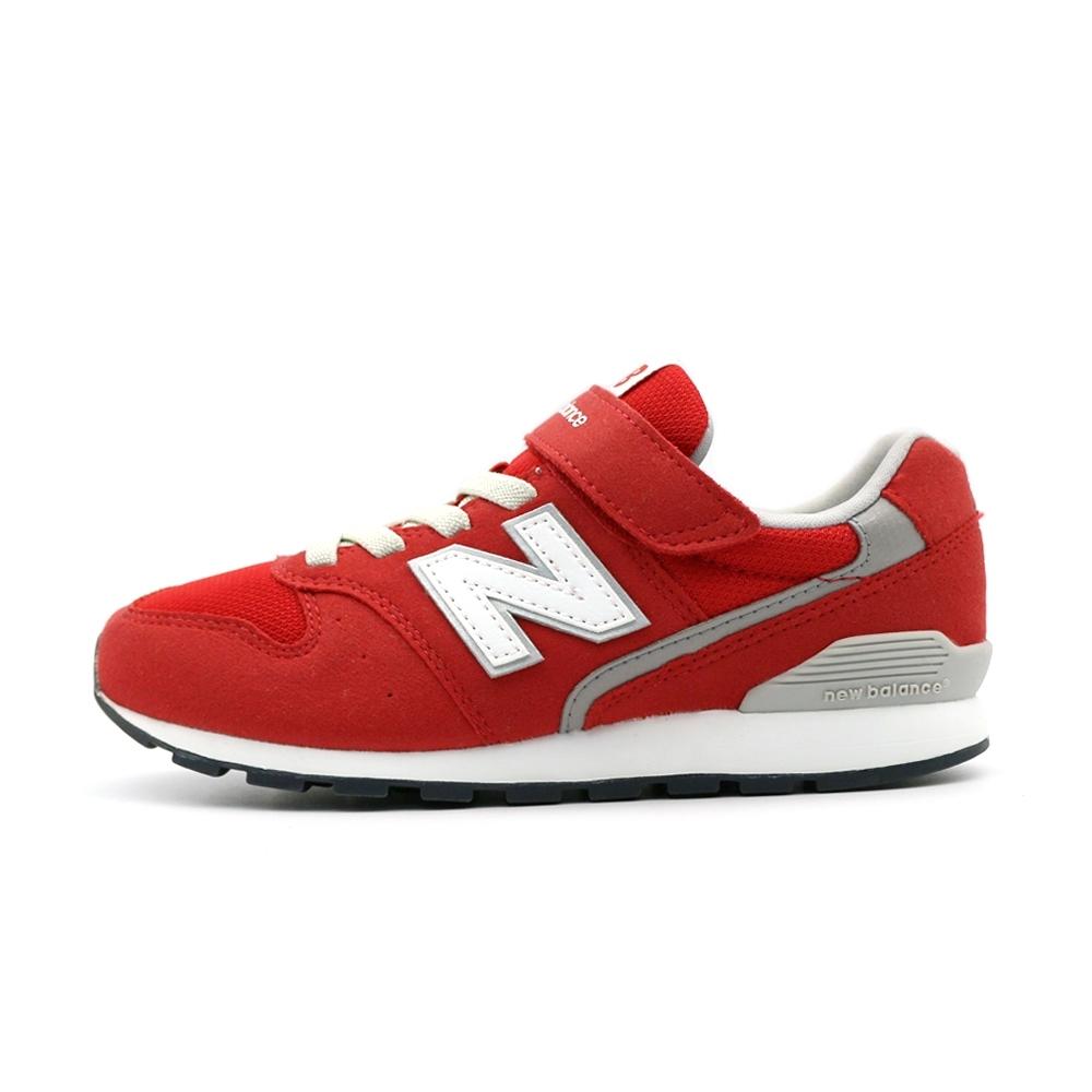 NEW BALANCE 中大童休閒鞋-紅-YV996CRD-W