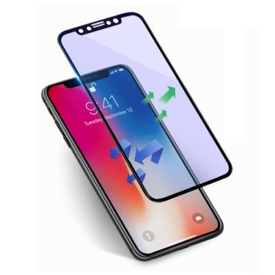 iPhone 11 軟邊 滿版 藍紫光 9H 鋼化玻璃膜 手機螢幕保護貼