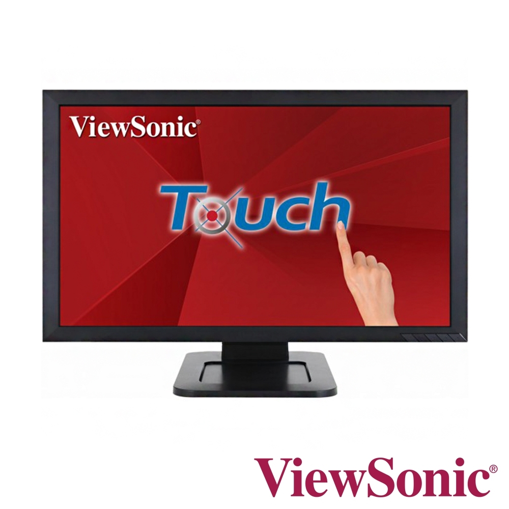 ViewSonic TD2421 24型Full HD多點光學觸控電腦螢幕