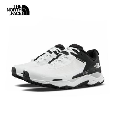 The North Face北面女款白黑色VECTIV防水透氣抓地徒步鞋|4T2XLA9
