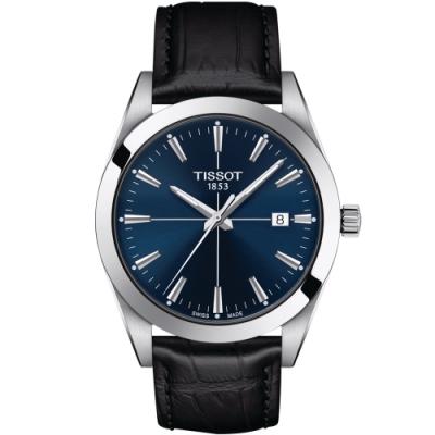 TISSOT GENTLEMAN 經典紳士錶(T1274101604101)40mm