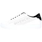 GIVENCHY 孔洞字母設計都市滑板鞋(白色)