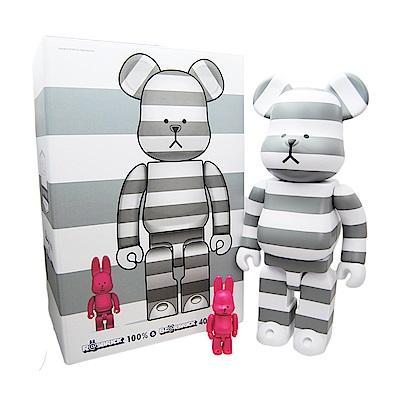 CRAFTHOLIC宇宙人 監獄熊造型公仔-灰白色